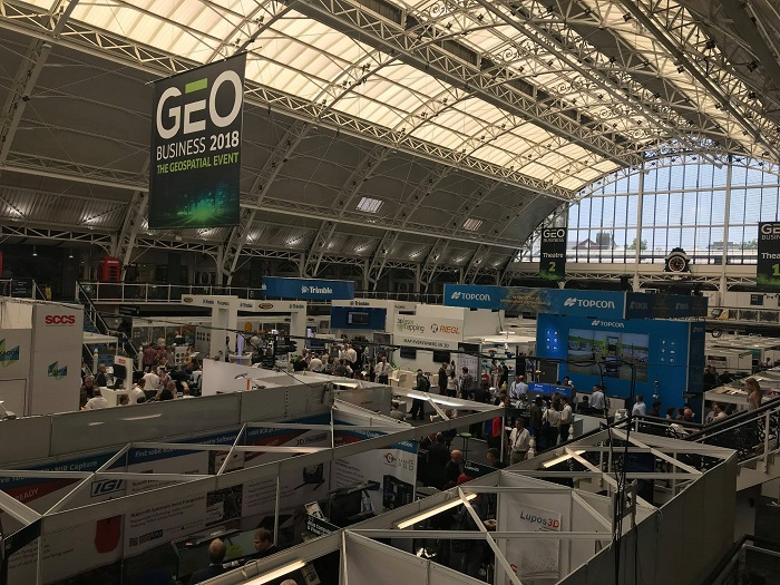 A couple of weeks ago, the OpenWeather team visited the GEO Business 2018 event