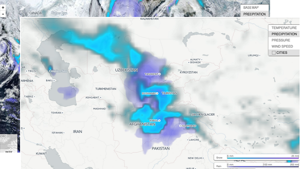 How to customize and build weather layers into your map application