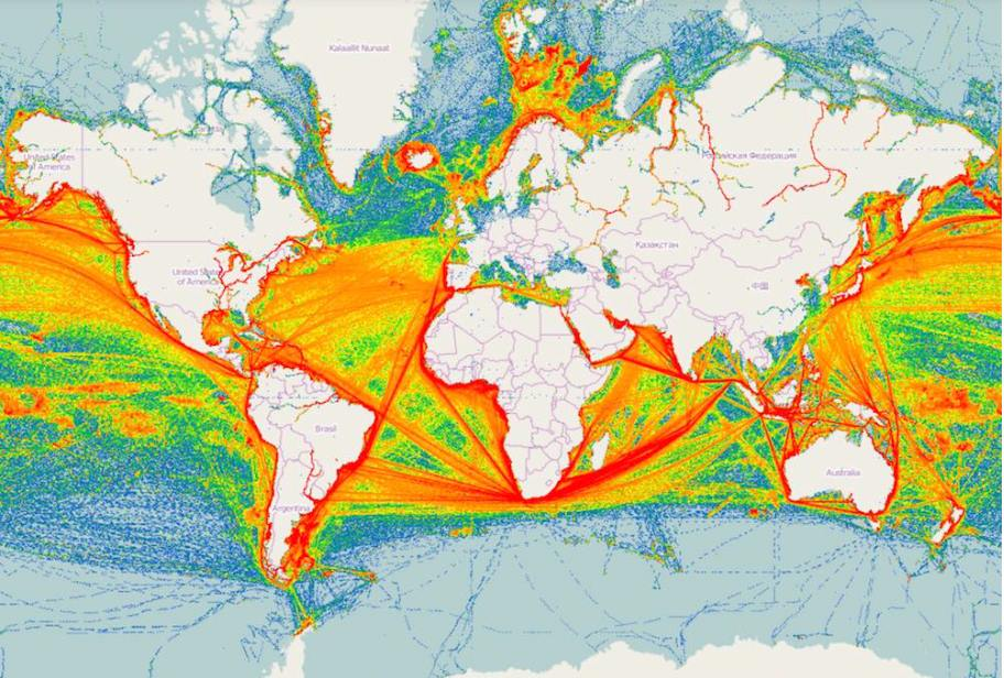 Ship Traffic Map.Weather News End New Weather Service Openweathermap