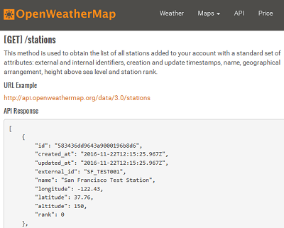 We have good news about a new version of Weather Station API 3.0!
