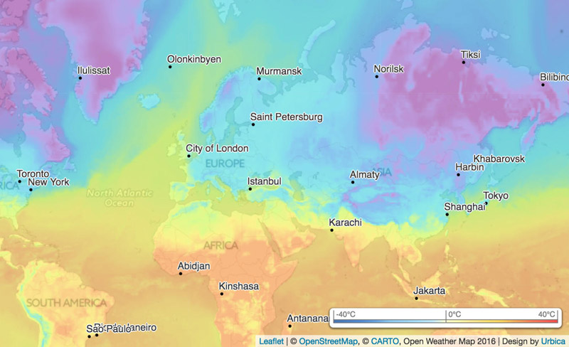 Real Time Weather Map Сurrent weather and forecast   OpenWeatherMap