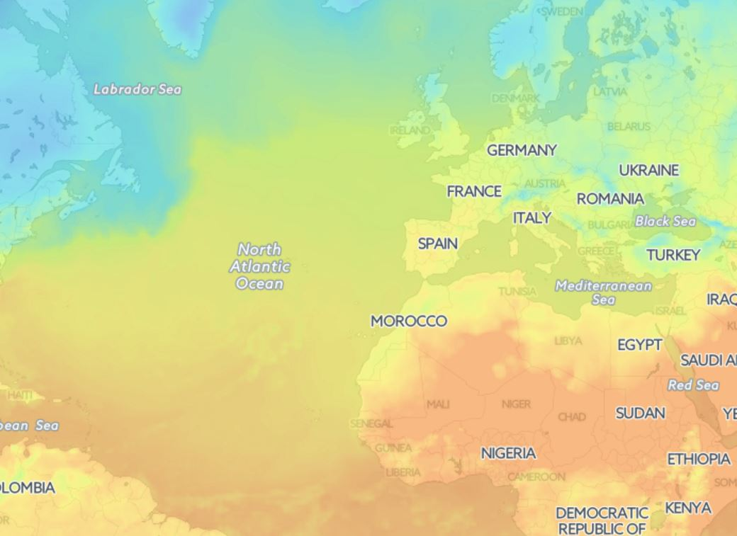 Ocean Weather Map.Weather Maps Openweathermap